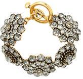 Oscar de la Renta jeweled bracelet