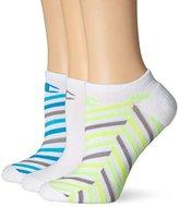 Champion Women's No Show Socks-Stripe (Pack of 3)