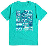 Quiksilver Boys 8-20 Free Form Graphic Tee