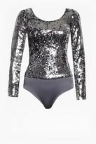 French Connection Zena Sequin Bodysuit