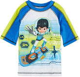 Disney Collection Miles Rash Guard Swimwear Top - Boys 2-10