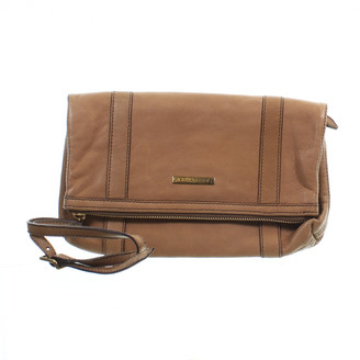 Burberry Beige Leather Clutch bags