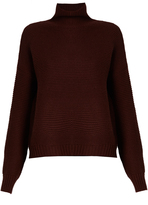 Vince Wool and cashmere-blend roll-neck sweater