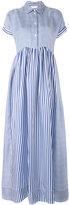 P.A.R.O.S.H. long shirt dress - women - Silk - S
