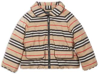 Burberry Kids Icon Stripe Down Jacket