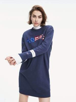 Tommy Hilfiger Logo Sweatshirt Dress