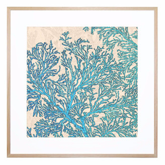 United Artworks Coral Flow Acrylic Print With Frame