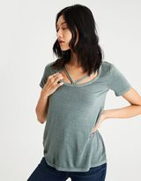 American Eagle Outfitters AE Soft & Sexy Strappy Scoop T-Shirt