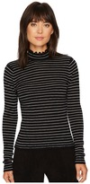 Rebecca Taylor Merino Wool Pullover Women's Long Sleeve Pullover