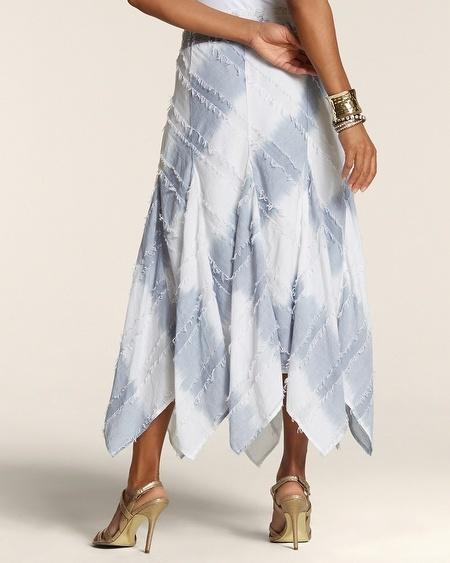 Helena Artisan Denim Skirt