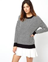 Minkpink Domino Oversized Sweater