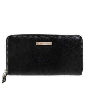 Tiffany & Co. \N Black Leather Wallets