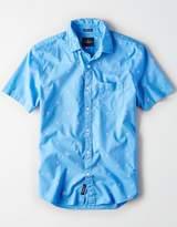 American Eagle Outfitters AE Short Sleeve Poplin Shirt