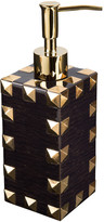 Mike and Ally Mike + Ally - Magnus Soap Dispenser - Carved Chestnut & Gold