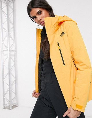 The North Face Garnier Triclimate jacket in yellow