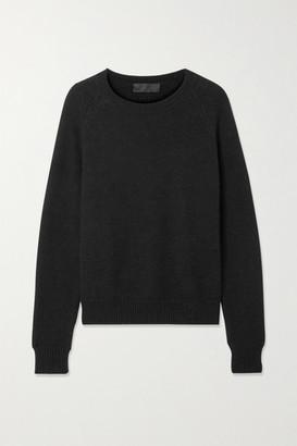 Nili Lotan Vesey Merino Wool And Alpaca-blend Sweater - Black