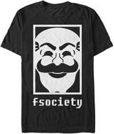 Fifth Sun Mr Robot fsociety Mens Graphic T Shirt