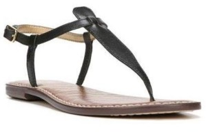 Sam Edelman Gigi T-Strap Flat Sandals Women's Shoes