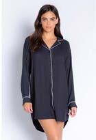 Thumbnail for your product : PJ Salvage Fresh For Friday Solid Night Shirt, Slate Medium