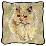Dickens & Smyth Cream Persian Lap Sqr 1955-LS by pure country
