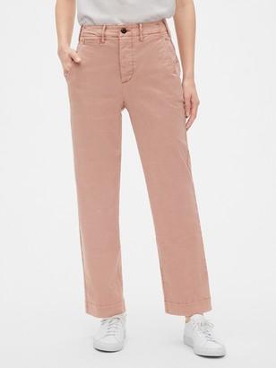 Gap High Rise Straight Chino Pants