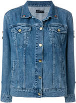 Etro embellished circus patch denim jacket