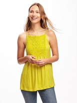 Old Navy Relaxed Embroidered Tunic Cami for Women