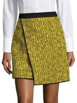 MSGM Faux Wrap Mini Skirt