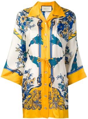 Gucci Printed Kimono Shirt