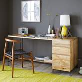 west elm Industrial Modular Desk Set Box File