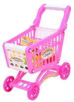 Playworld Kitchen Connection Shopping Cart 56 Pieces - Pink