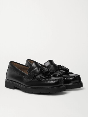 G.H. Bass & Co. Weejuns 90s Layton Ii Kiltie Polished-Leather Tasselled Loafers