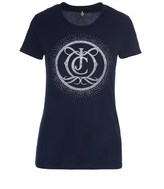 Juicy Couture Logo Crystal Monogram Tee