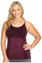 Hue Women's Plus Size Made to Move Seamless Shaping Cami