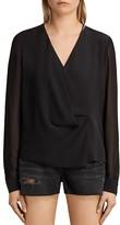 AllSaints Nile Silk Top