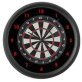 CafePress Dart Board Game Large Wall Clock