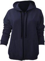 Gildan Ladies/Womens Heavy Blend Vintage Full Zip Hooded Sweatshirt / Hoodie (XXL)