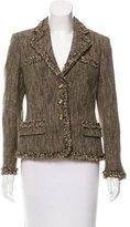 Rena Lange Wool Knit Jacket