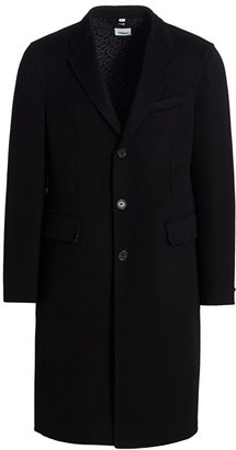 Burberry Hawkhurst TB Monogram Wool Coat