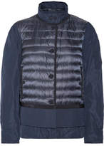 Moncler Quilted Shell Down Jacket - Midnight blue