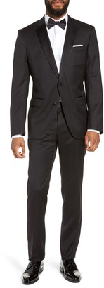 BOSS Halven/Gentry Slim Fit Wool Tuxedo