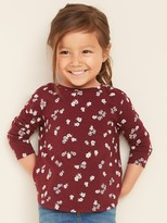 Old Navy Printed Crew-Neck Tee for Toddler Girls