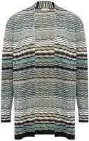 M&Co Multi stripe open front cardiagn