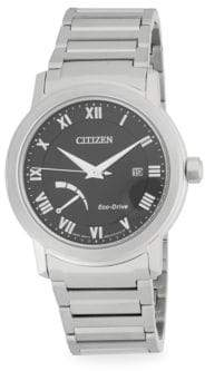 Citizen Stainless Steel Eco-Drive Analog Bracelet Watch