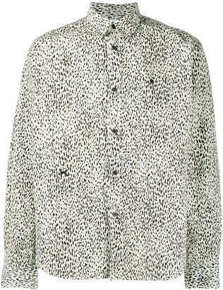 Kenzo Speckled Print Shirt