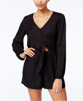 Jessica Simpson Phillipa Cutout Romper