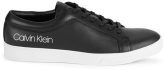 Calvin Klein Bevan Leather Logo Sneakers