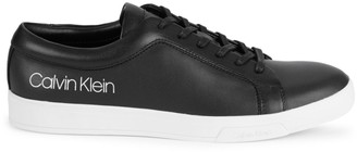 Calvin Klein Bevan Leather Logo Sneakers