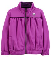 Just One You® made by Carter Just One YouMade by Carter's® Toddler Girls' Solid Zip up Track Jacket - Violet