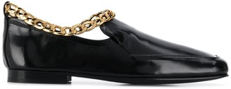BY FAR Nick Semi-Patent loafers